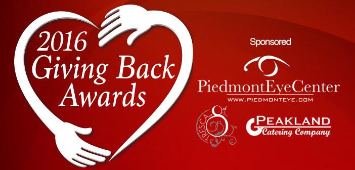2016 Giving Back Award Winners