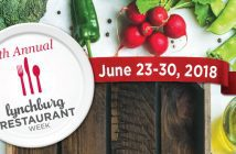 lynchburg restaurant week 2018