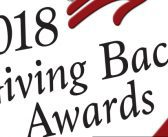 2018 Giving Back Awards