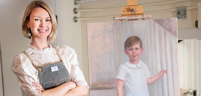 kate mc clure portrait artist