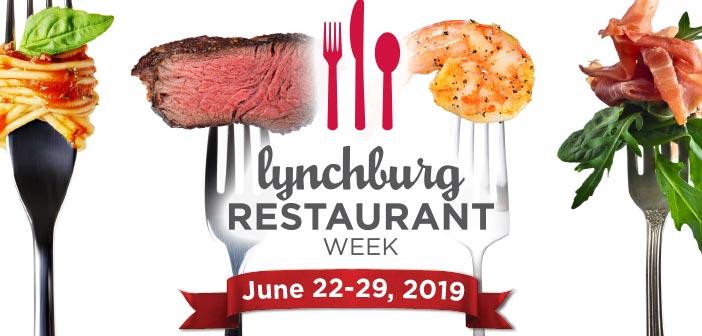 8th Annual Lynchburg Restaurant Week 2019