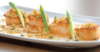 Lemon Crumb Seared Scallops