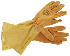 Womanswork All Leather Gauntlet Gloves