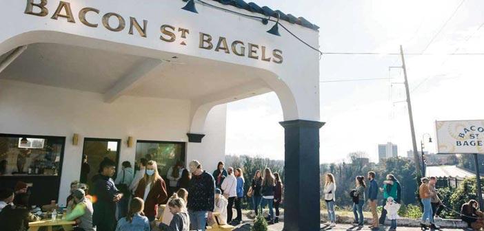 bacon street bagels exterior