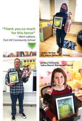 top teacher awards