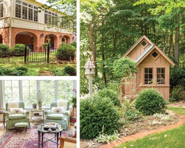 traditional home decor and gardens